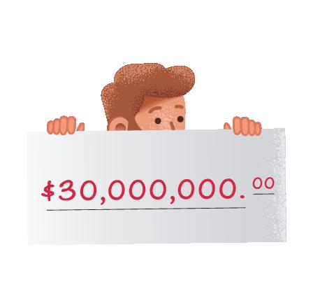 Ganadores de la lotería online SuperStar de SuperEnalotto en theLotter Uruguay
