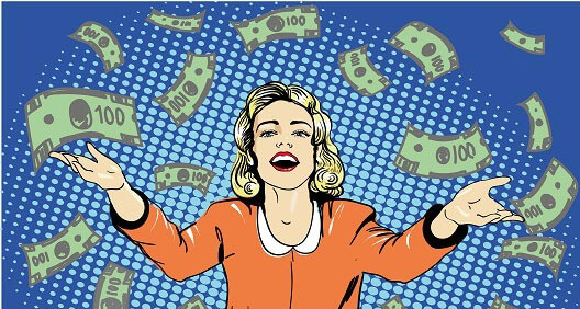 Ganando a la lotería
